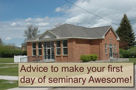 Advice for making this year of seminary awesome